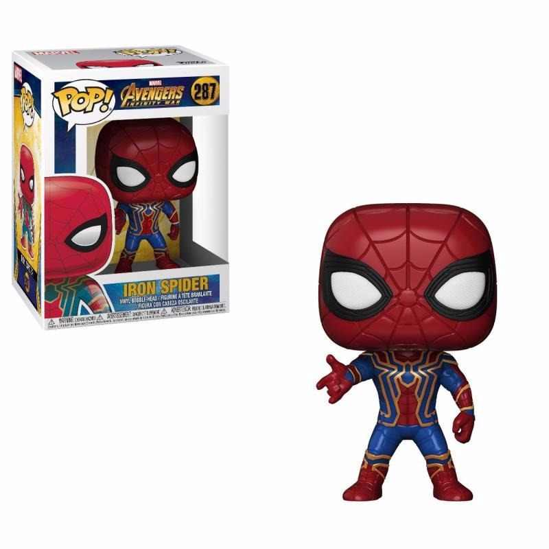 Funko POP The Marvel Avengers3: Infinity War Spider-Man PVC Action Figure Collected toys for Children gift
