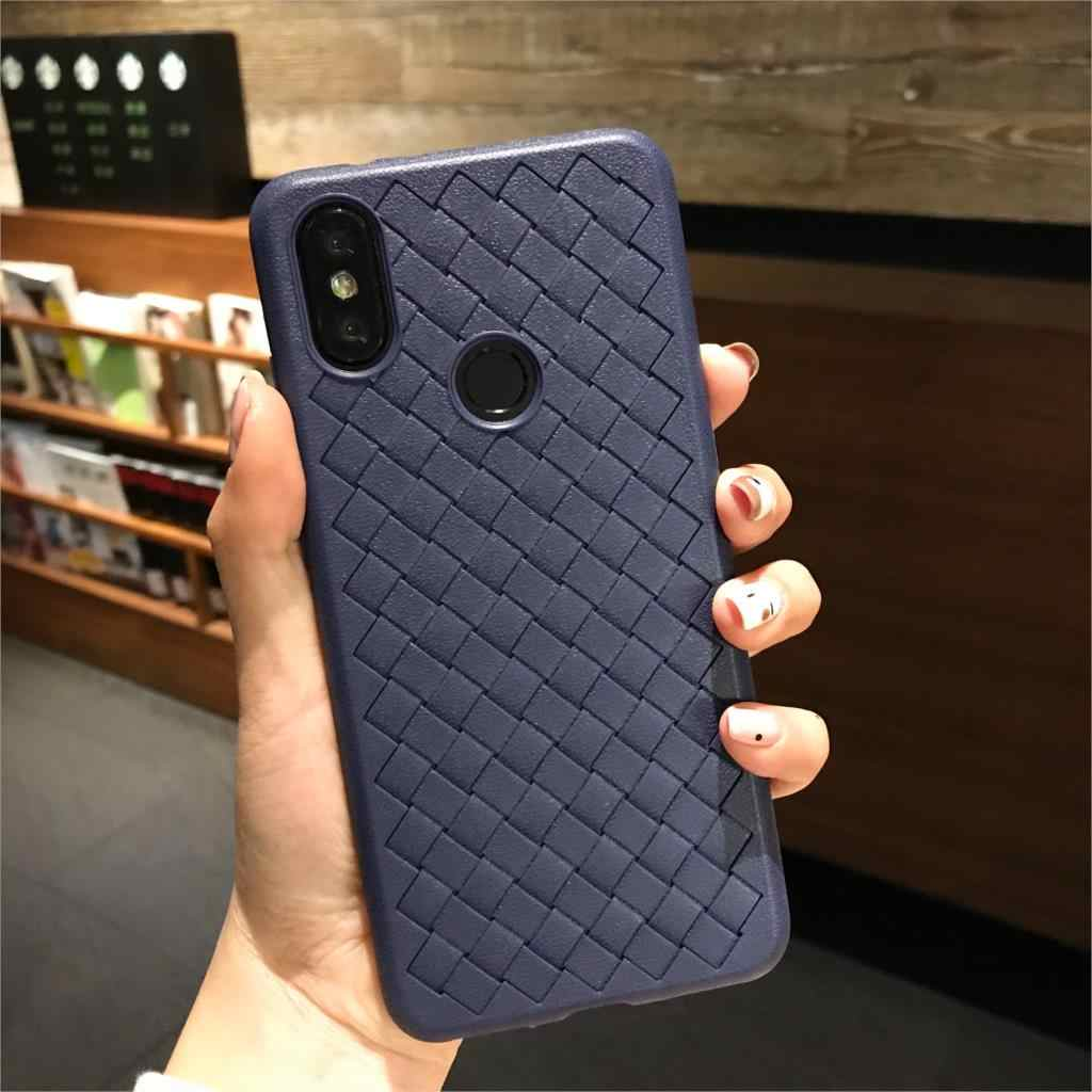 3D Weave Heat Dissipation Matte Case For XiaoMi 9 SE 8 Lite A2 Lite 6X A1 F1 Play Cover Silicone TPU Soft Back Coque Phone Cases