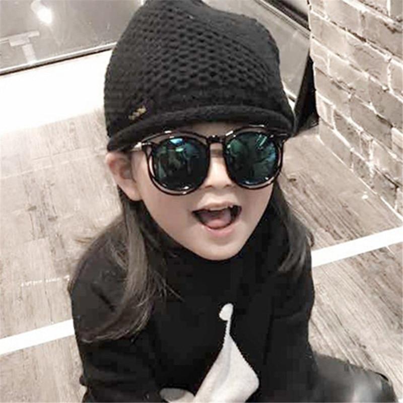 2018 Fashion Frame Sunglasses For Kids Boys Girls Goggle Sun Glasses Fashion Children UV400 Eyewear Accessories
