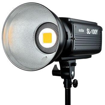 Комплект для фотосъемки 2 шт. Godox SL100Y Видео непрерывный светильник 60x90 см софтбокс светильник подставка для фотостудии набор оборудования же...