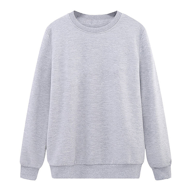 Solid Color Sweatshirt Women Casual Hoodie Fashion Winter Autumn Lasdies Pullover Fleece Black White Blue Red Gray Streetwear 2