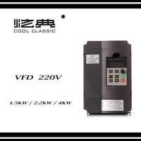 Convertisseur de fréquence 50hz 60hz XSY-AT1 3P 220V sortie CNC broche moteur contrôle de vitesse VFD convertisseur