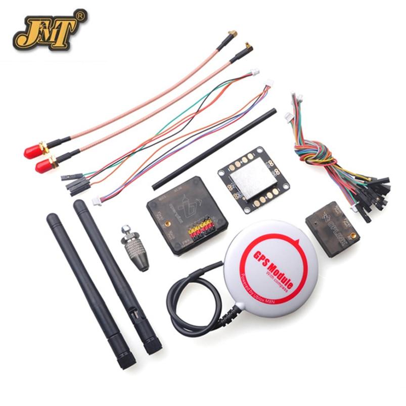 JMT OpenPilot CC3D Revolution Flight Controller Combo with M8N GPS OPlink Transceiver CC3D Power Distributors Plate Board цена
