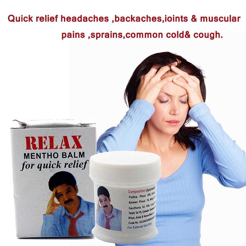 Gommage vapeur blanc refroidissement menthe baume onguent pour Anti moustique maux de tête maux de dents maux de ventre vertiges huile essentielle baume tigre