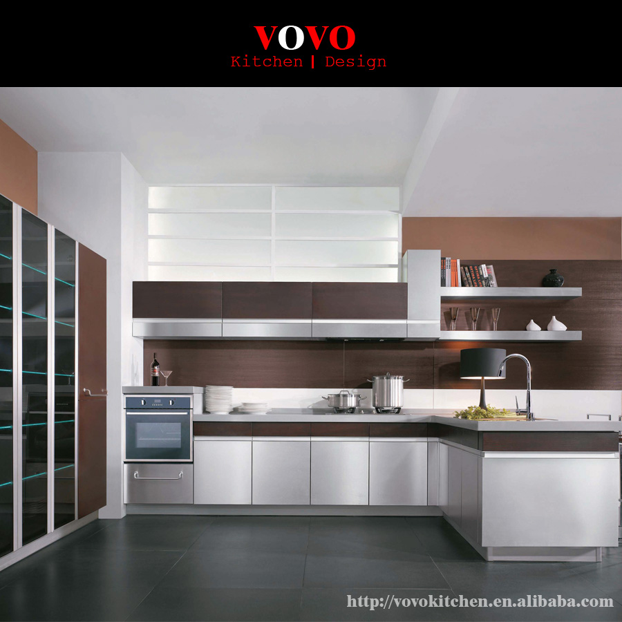 No Handle Style Kitchen Drawers And Doors-in Kitchen