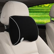 Universal Car Seat Memory Foam Pillow Head Neck Care Rest Cushion(China)