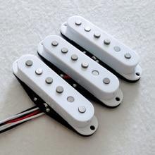3 шт./компл. теплый и яркий звук Alnico 5 страггер полюс одной катушки гитары пикап
