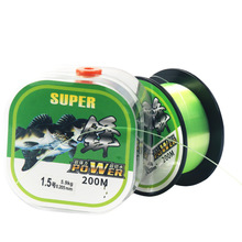 New Arrival 200m Fishing Line Mainline Tippet Rock Rope Large Drag Power Strong Pull Telescopic Lure Rod Lining