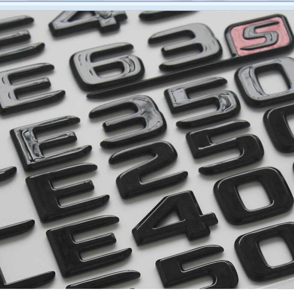 2017-2020 liso brilho preto tronco letras emblema emblema emblemas para mercedes benz amg w176 w205 w213 w222 x253 x117 w166 x156 w204