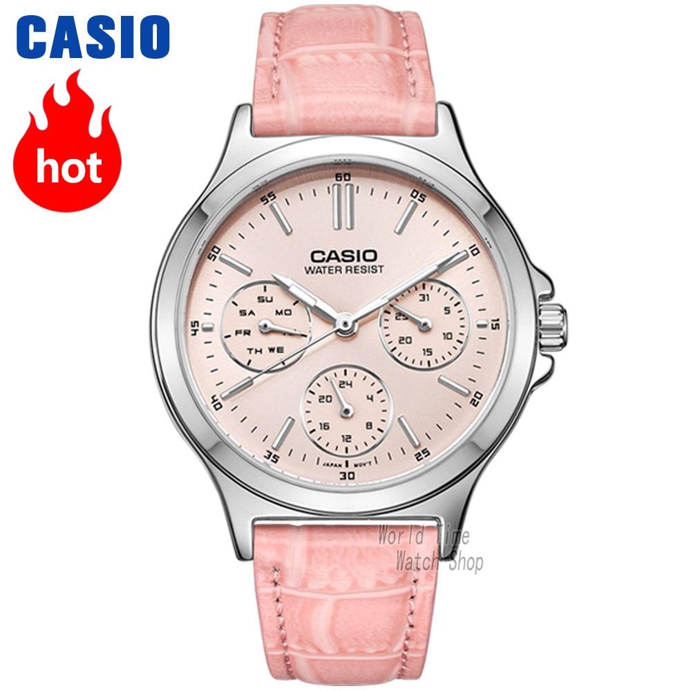 3cc47c34632 Casio watch Analogue Women s Quartz Sports Watch Luminous Calendar Pointer  Waterproof Watch LTP V300-in Women s Watches from Watches on Aliexpress.com  ...