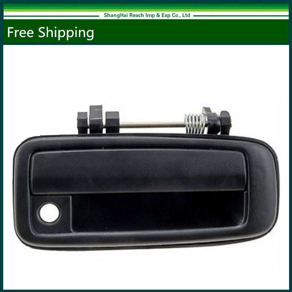 E2c new black outside exterior door handle for toyota corolla 1988 1992 front right oe 69210 12110 6921012110
