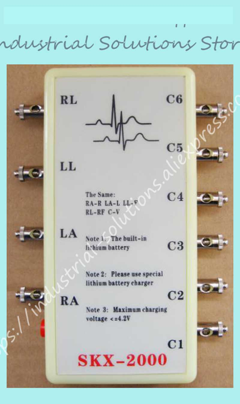 NUOVO tipo di SKX-2000D ECG simulator con Delle Vie Respiratorie onda ECG simulatore di macchina con Delle Vie Respiratorie onda 10 caviNUOVO tipo di SKX-2000D ECG simulator con Delle Vie Respiratorie onda ECG simulatore di macchina con Delle Vie Respiratorie onda 10 cavi