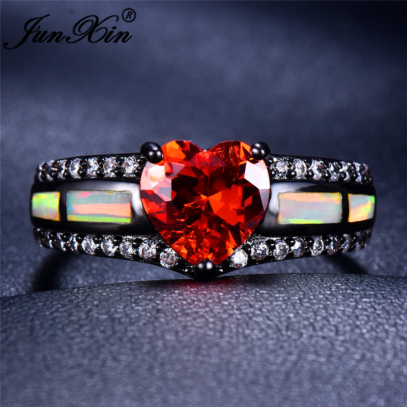 White Opal Red