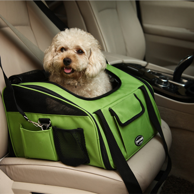 Bags For Small Pet Dog Bag Cat Carrier Handbag Backpack Portable Travel Airline Shoulder Bicycle Water proof Oxford Car Seat-in Dog Carriers from Home & Garden    1