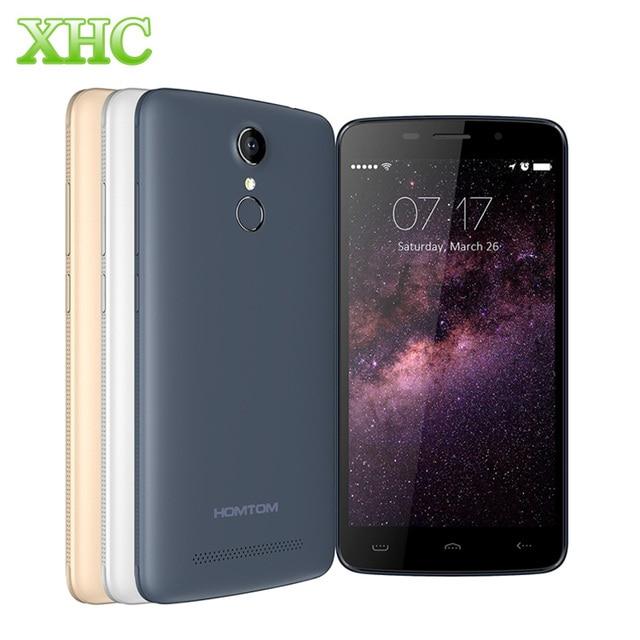 HOMTOM HT17 HT17 Pro Smartphone 8GB/16GB LTE 4G 5.5''Android 6.0 MT6737 Quad Core RAM 1G/2G 3000mAh Fingerprint Phone Film Gift