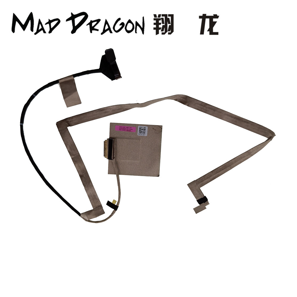 MAD DRAGON Brand Laptop new LCD LVDS Cable For Dell Precision 7730 M7730 DAP20 LCD EDP CABLE FHD 0NR7JT NR7JT DC02C00HI00 30pin new ms1791 k1n 3040026 h39 edp lvds cable for msi ge72 gt72s pe70 lcd lvds cable 30pin