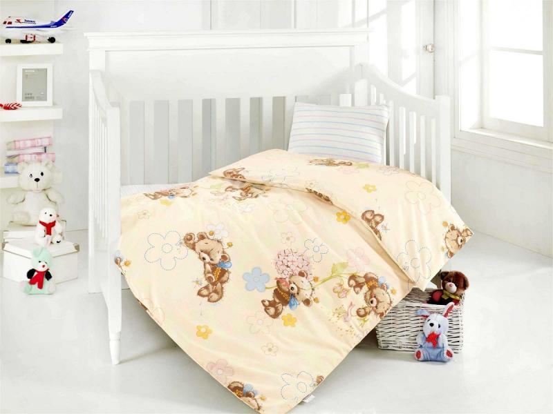 Bedding Set for baby ALTINBASAK, YUMAK, cream bedding set for baby altinbasak puffy cream