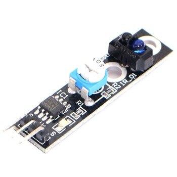 KY-033 100 шт 1 канальный модуль отслеживания/интеллектуальный датчик слежения автомобиля Инфракрасный/черный белый датчик обнаружения линии