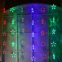 Fairy lights LED Star curtain lights garland chrismas lights decoration party wedding decorative lamp holiday lighting