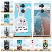 For Sony Xperia XA2 Case Ultra-thin Soft TPU Silicone Cover Cartoon Patterned Shell Bag