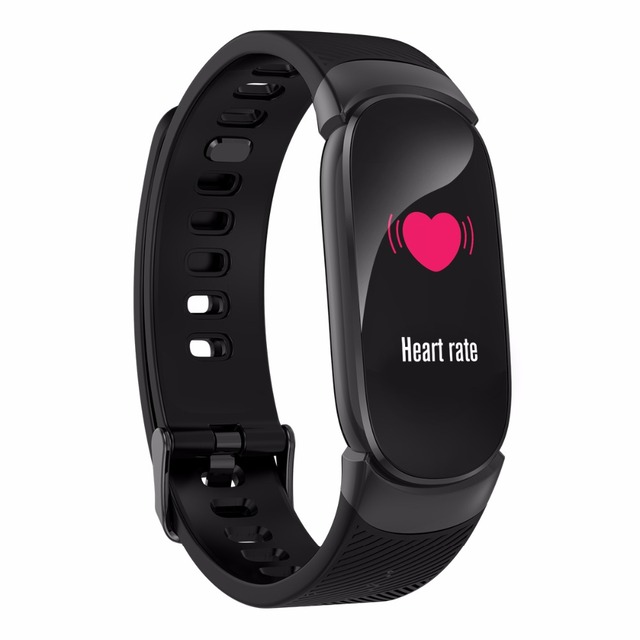 Sports Waterproof  Bluetooth Heart Rate Monitor Fitness Tracker Smart Watch