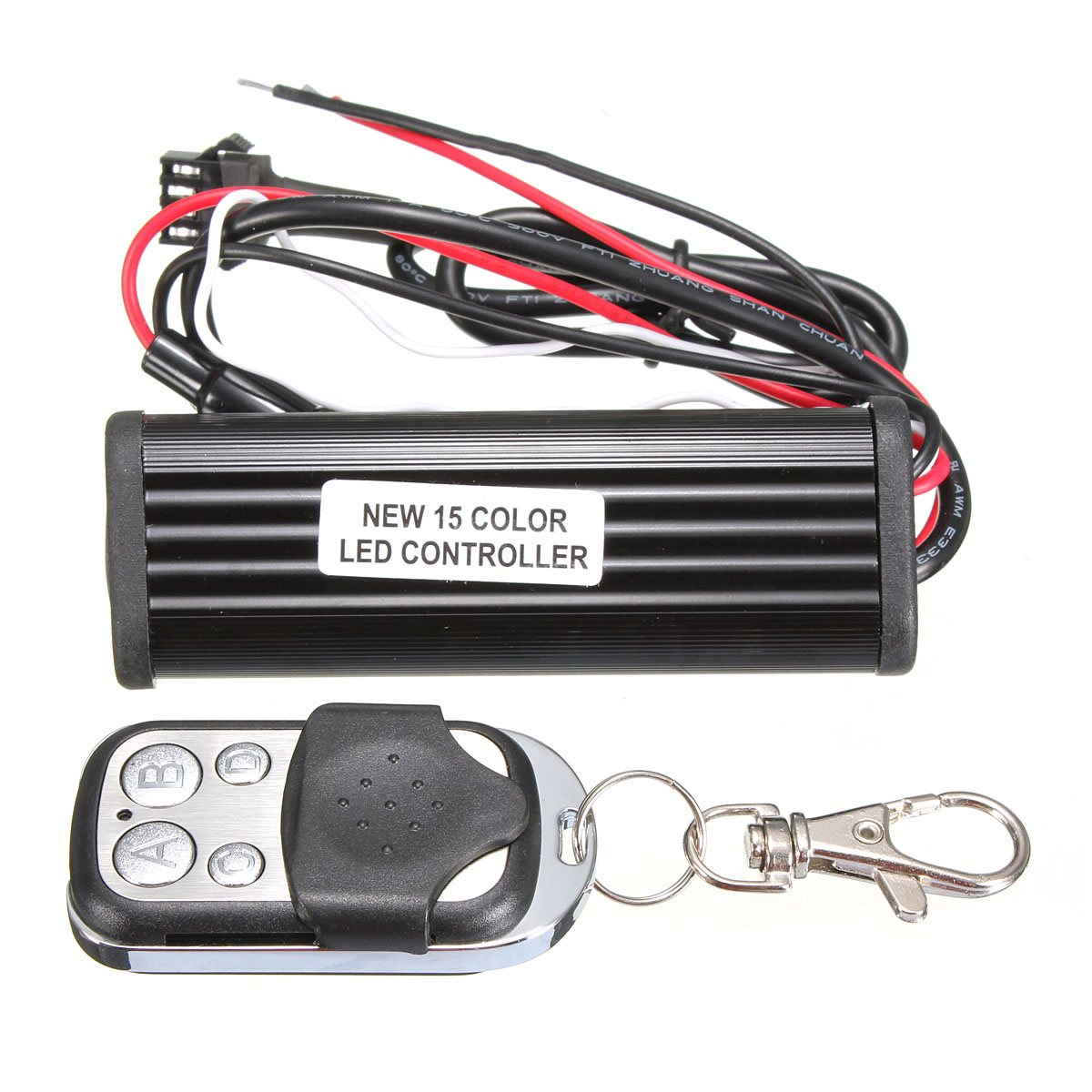 Light Controller For Motorcycles: 15 Color RGB Auto Car LED Controller Car LED Strobe Flash