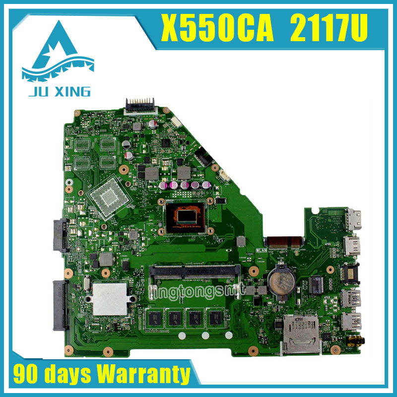 Original for ASUS Laptop motherboard X550CA 2177 CPU Integrated fully tested good price free shipping sbc8252 long industrial motherboard cpu card p3 long tested good working perfec