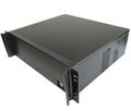 Caso servidor de computador 3U380mm ultra-curto Chassis industrial painel de alumínio de qualidade Suporte de rack de 19