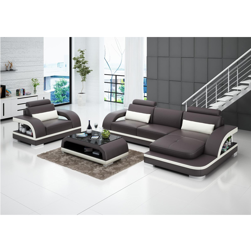 US $1628.0 |House furniture wooden leather recliner sofa set price  philippines-in Living Room Sets from Furniture on AliExpress - 11.11_Double  ...