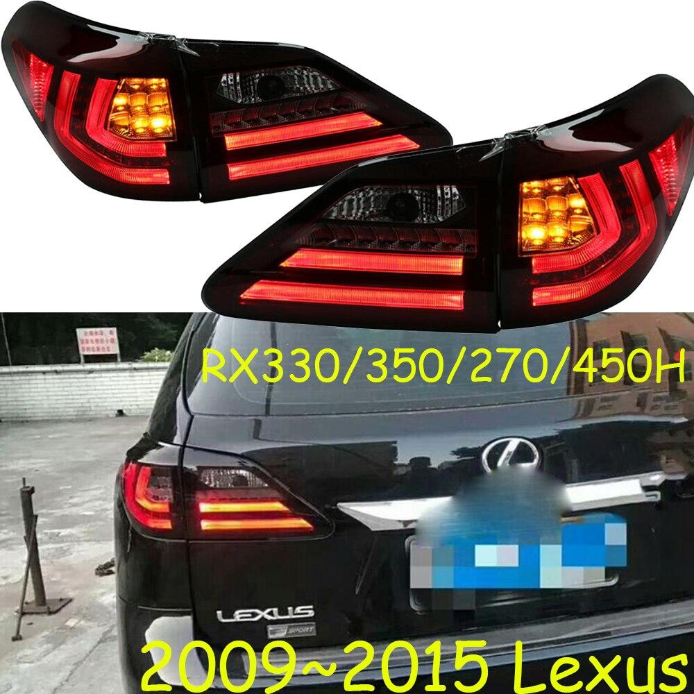RX350 фонарь, RX330 RX270 фонарь, RX450h, светодио дный, 2009 ~ 2015, автомобильные аксессуары, RX330 задние лампы, видео дисплей, RX350 противотуманных фар