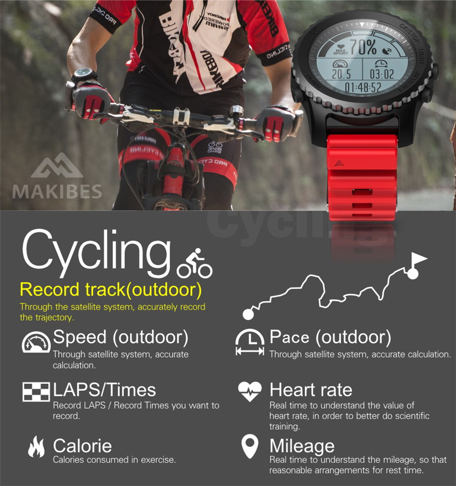 Makibes G07 GPS Smart Watch (12)