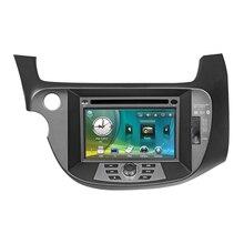 7″ Car Radio DVD GPS Navigation Central Multimedia for Honda Fit Jazz 2008 2009 2010 2011 USB RDS Phonebook Bluetooth Handsfree