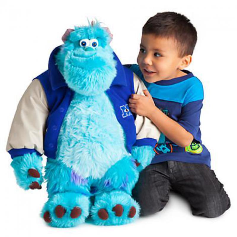 Grand 1 pièces 50 cm monstres université Sulley Sullivan peluche jouet Animal en peluche bébé enfant doux poupée pour enfants fille cadeau de noël