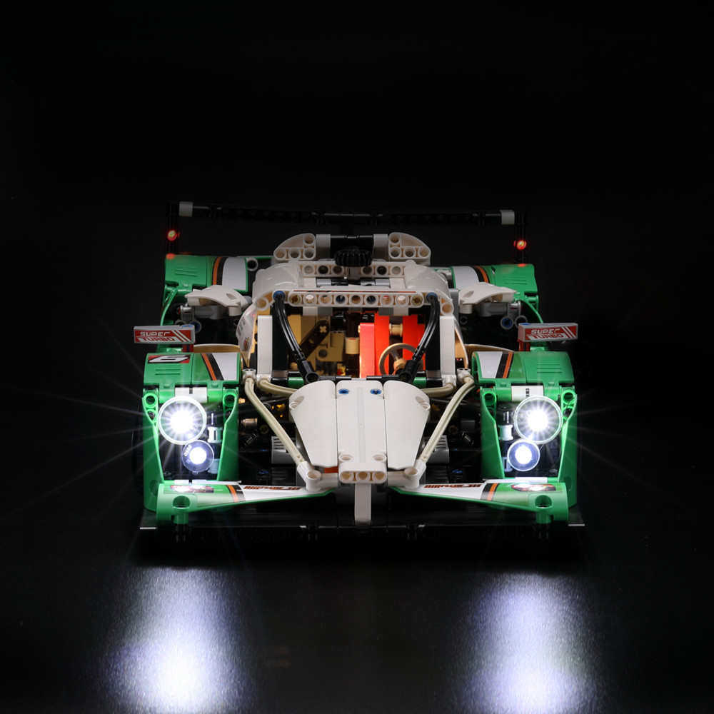 LED Light Kit (only Light Included) For Lego 42039 And 20003 The 24 Hours Race Car ( The Car Not Included)