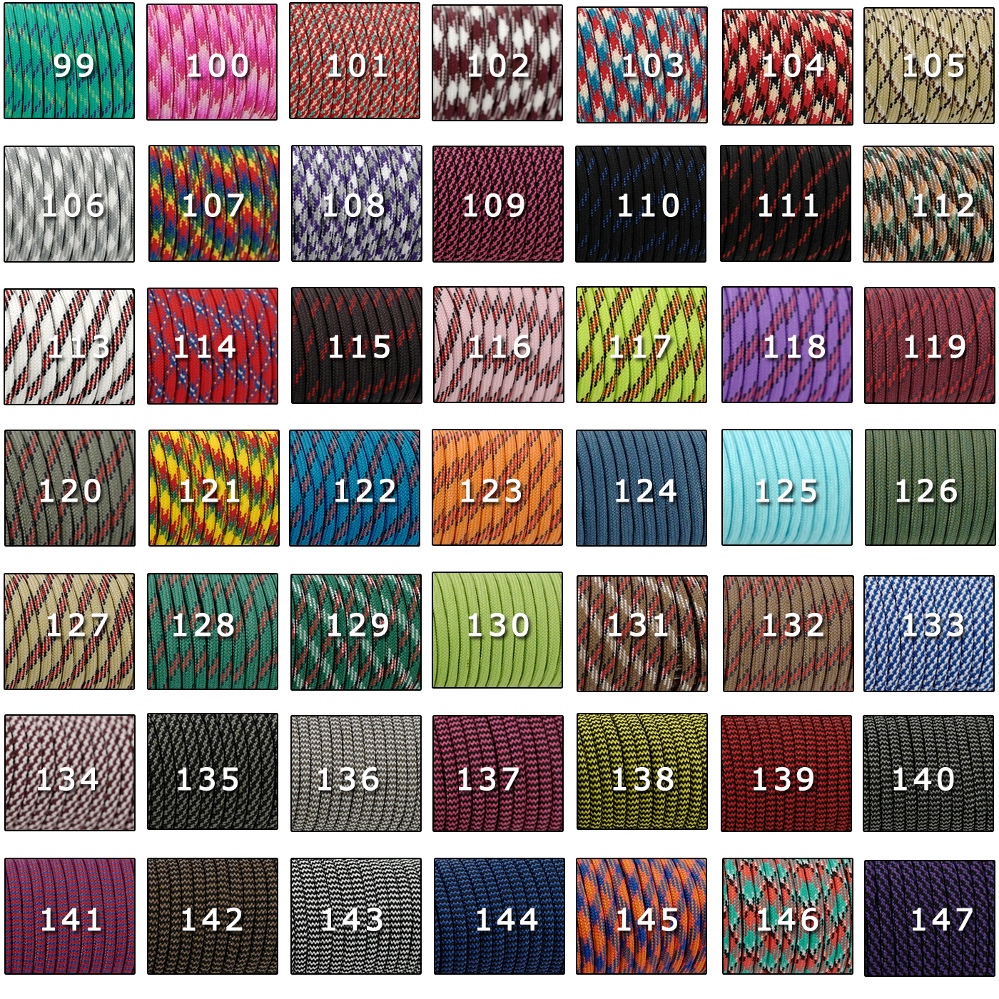 YOUGLE 550 Paracord Parachute Cord Lanyard Tent Rope Guyline Mil Spec Type III 7 Strand 50FT 100FT For Hiking Camping 259 Colors 4