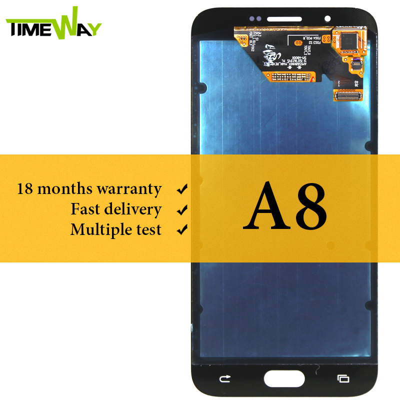 OEM For Samsung A8 2015 A800 LCD Screen AMOLED 5 7 Inch NO Dead Pixel Touch