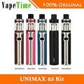 HOT! unimax joyetech 25 vaping kit starter kit 3000 mah 5 ml com bfl kth-dl.head 0.5ohm cigarros vs só unimax 25 bateria