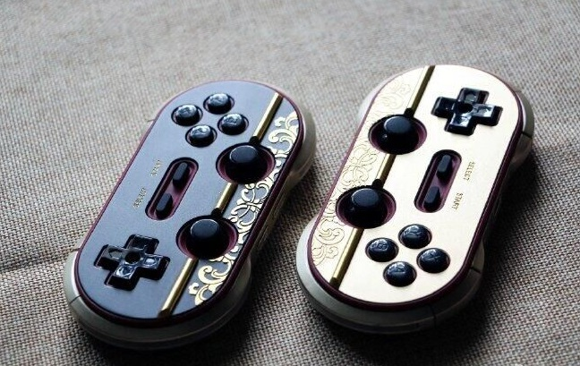 8Bitdo FC30Pro Year of the Monkey Bluetooth Gamepad Limited Edition Version(2PCS)  Support Switch,Android,MAC,PC, NES Classic