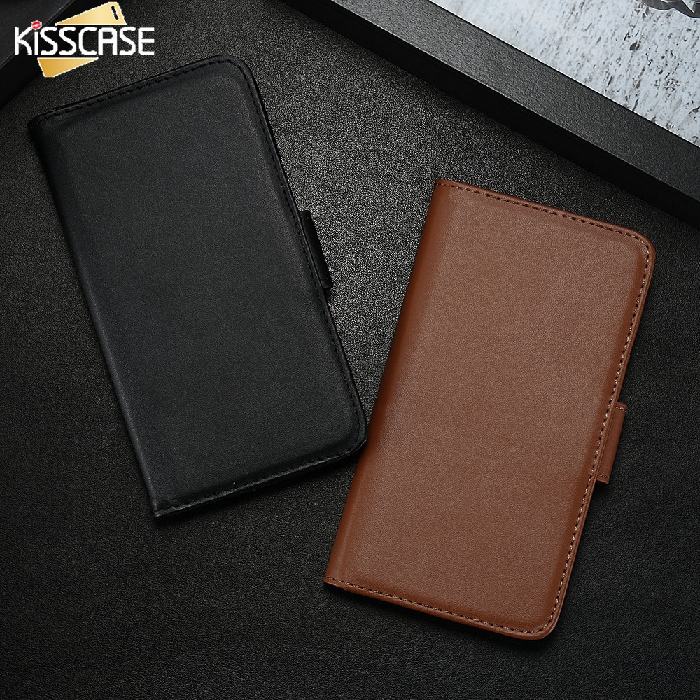 KISSCASE Vintage PU Leather...