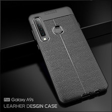 For Phone Case Samsung Galaxy A9 2018 Luxury Rubber for Cover A9S Fundas