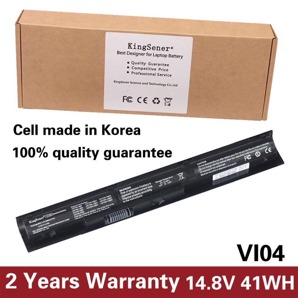 Korea Cell VI04 Battery for HP Pavilion 17 15 ENVY 15-K028TX K031TX K032TX HSTNN-DB6I HSTNN-DB6K HSTNN-LB6J TPN-Q140 TPN-Q141 new russian for hp envy x2 11 g000 g003tu tpn p104 hstnn ib4c c shell ru laptop keyboard with a bottom shell