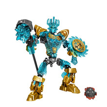 94PCS Bionicle 71312 Biochemical Warrior Ekimu The Msdk Maker Building Block Toys Compatible With Bela XD134