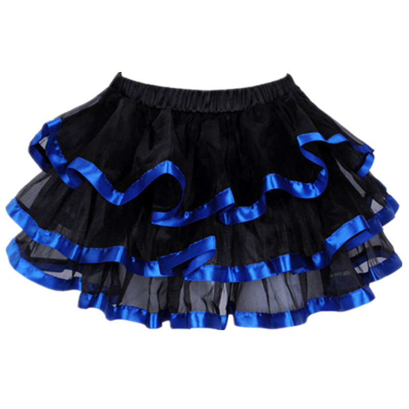 Women Corset Tutu Skirt Ball Gown Elastic Waist Mesh Petticoat Party Dance Mini Skirt