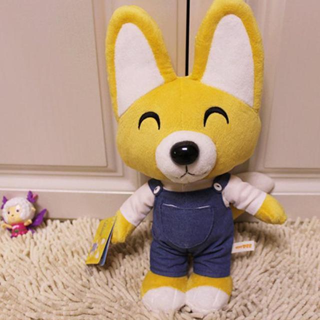 New Kid Toys Pororo Plush Toys 30cm Cute Fox Eddy Stuffed ...