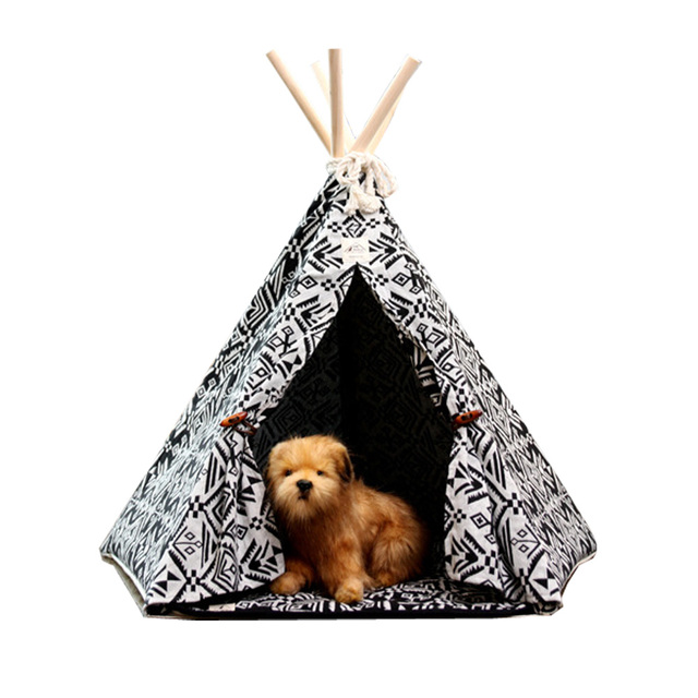 New design black color design Dog Bed Dog House Pet play House play teepee tent dog  sc 1 st  AliExpress.com & New design black color design Dog Bed Dog House Pet play House ...