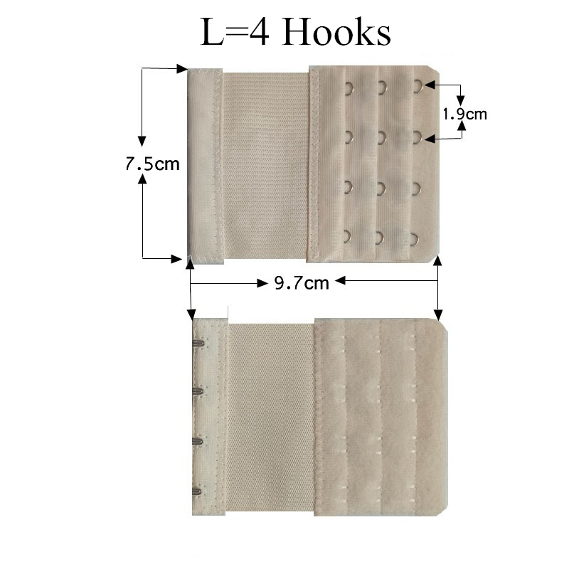 c248862874a89 5Pcs Women Elastic Bra Extenders Strap Extension 2 3 4 Hooks High Quality  Nylon Male Bra Strap Adjuster Intimates Accessories-in intimates   accessories from ...
