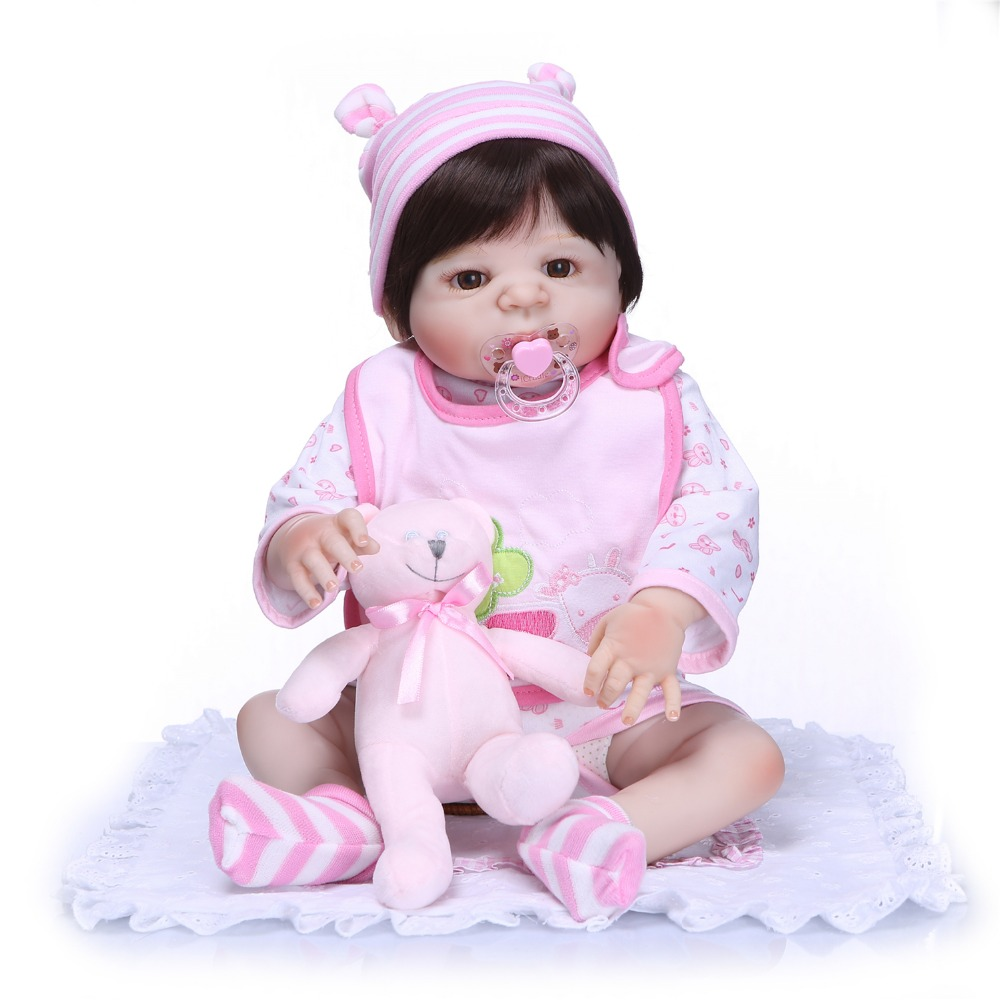 Soft Real Life Princess Doll Reborn Full Silicone Vinyl Reborn Dolls Toys for Girls Bebe Reborn Doll for Girl Toys for Children barry schoenborn math for real life for dummies