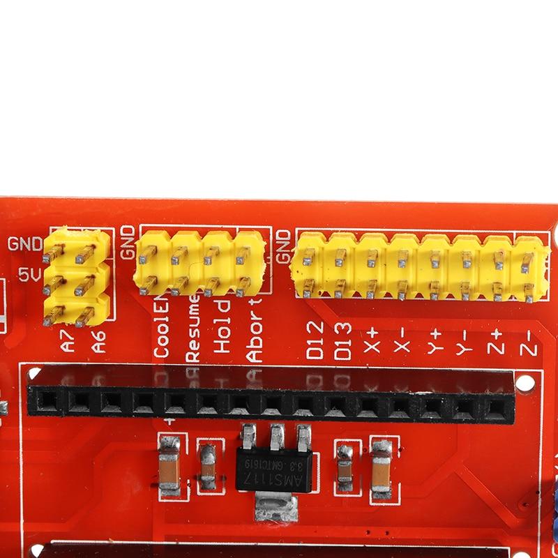 Multicolor Resin CNC Shield V4 Engraving Expansion Board Kit Controller For Arduino Engraver Machine Driver 3D Printer
