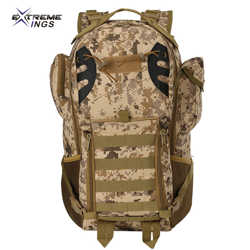 Factory wholesale agent mountain hiking camping bag outdoor sports winner chicken riding tactical backpack 45L big
