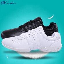 Детские кроссовки Детская конкурентоспособная обувь для аэробики мягкая подошва Спортивная обувь для фитнеса Джаз/Современная квадратная танцевальная обувь